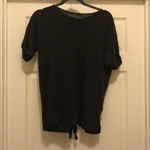 Dark gray shirt